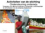 activiteiten van de stichting11