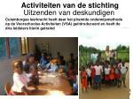 activiteiten van de stichting16