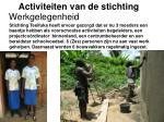 activiteiten van de stichting5