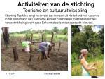 activiteiten van de stichting6