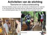 activiteiten van de stichting7