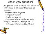 other uml notations