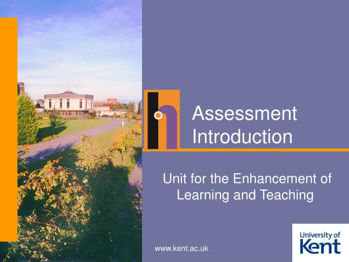 assessment introduction n.