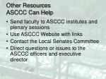 other resources asccc can help