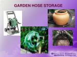 garden hose storage