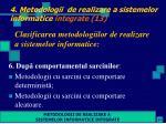 4 metodologii de realizare a sistemelor informatice integrate 13