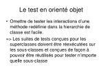 le test en orient objet5