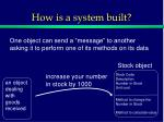 how is a system built3