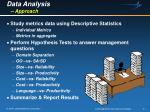 data analysis approach