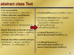 abstract class text3