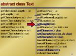 abstract class text5