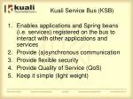 kuali service bus ksb