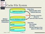 cache file system