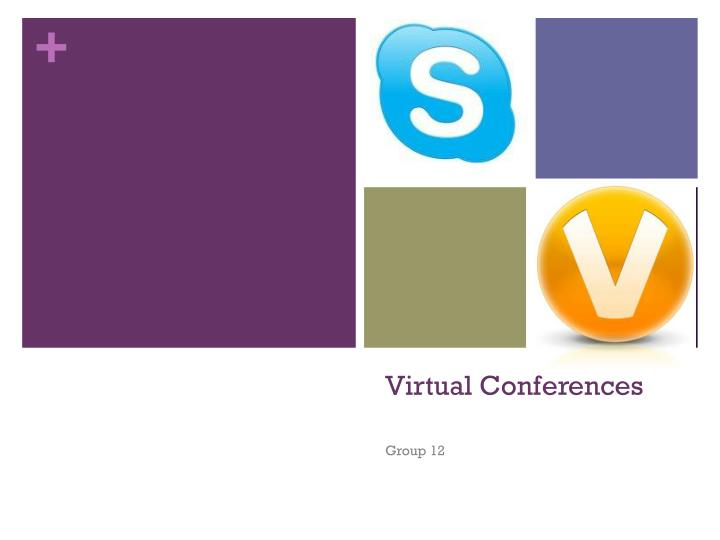 virtual conferences n.