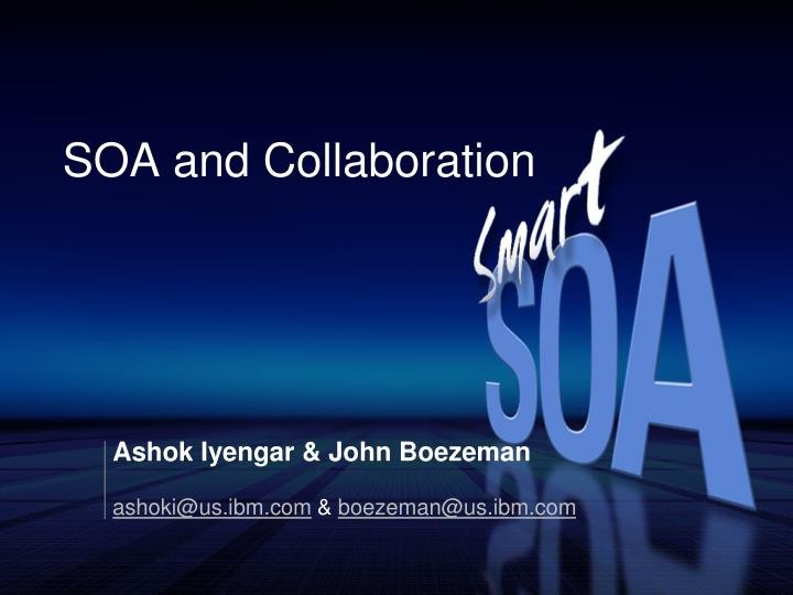 soa and collaboration n.