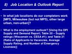 8 job location outlook report