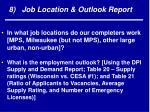 8 job location outlook report
