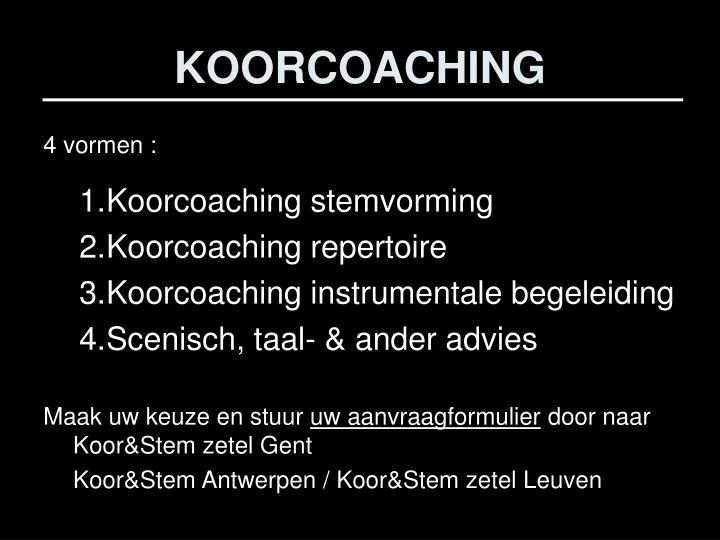 KOORCOACHING
