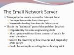 the email network server