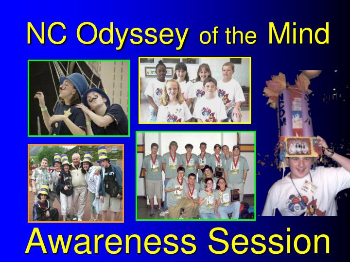 nc odyssey of the mind awareness session n.