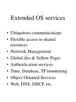 extended os services