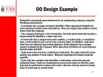 oo design example
