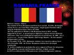 romania france