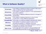 what is software quality
