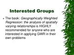interested groups