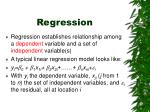 regression