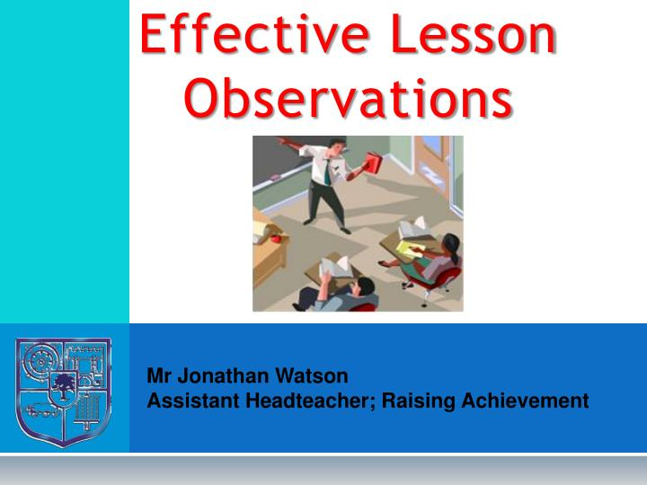 effective lesson observations n.