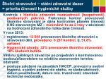 koln stravov n st tn zdravotn dozor priorita innosti hygienick slu by