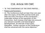 c16 article viii cwc