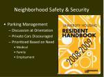 neighborhood safety security