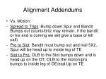 alignment addendums2