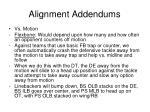 alignment addendums4