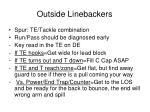 outside linebackers