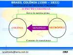 o pacto colonial