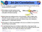 jet jet correlations