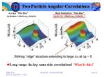 two particle angular correlations6