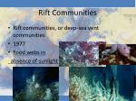 rift communities