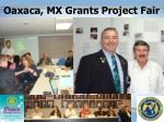 oaxaca mx grants project fair