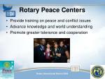 rotary peace centers1