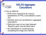 nslds aggregate calculations1