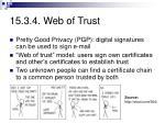 15 3 4 web of trust