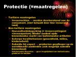 protectie maatregelen