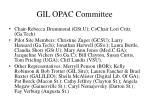 gil opac committee