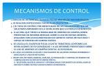 mecanismos de control1