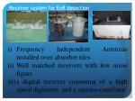 receiver system for eor detection