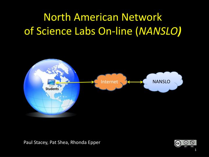 north american network of science labs on line nanslo n.